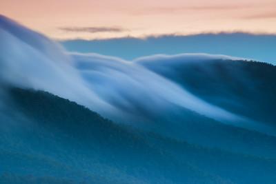 Clouds Flowing
