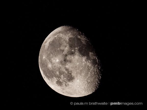 Waning Moon ~ August 24, 2013