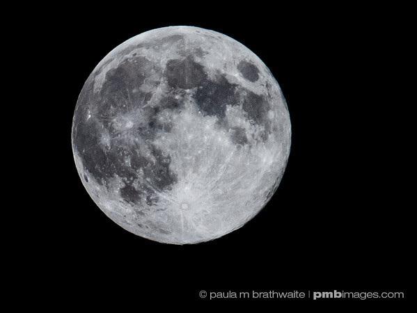 Full (Blue) Moon - Aug. 2013