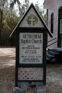 Bethlehem Baptist Chruch Sign IMG_8981
