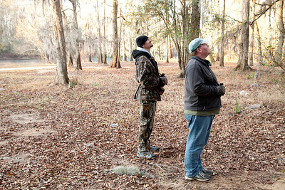 Dusty and Eran Birdwatching at Little Hell Boat Landing IMG_2551