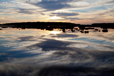 Bear Island WMA Sunset IMG_1318
