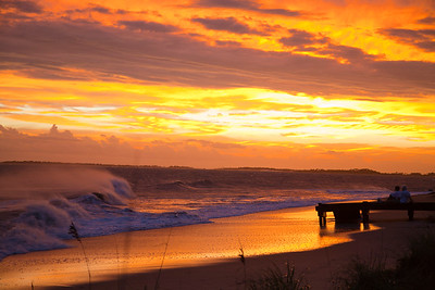 Edisto Sunset after Hurricane Irene IMG_0364