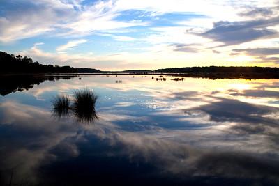 Bear Island WMA Sunset IMG_1320 rev 1