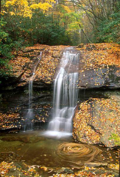 Boone Fork Waterfall