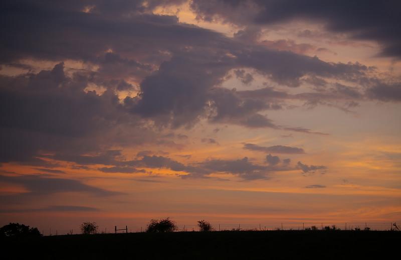 Dawn over Wedington
