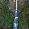 "Multnomah Falls, Columbia River Gorge<br /> <br /> According to the US Forest Service: ""Plummeting 620 feet from its origins on Larch Mountain, Multnomah Falls is the second highest year-round waterfall in the United States."""