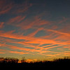 Dec. 5th, 2007 Sunset<br /> <br /> Actual image dimensions are 7128 x 2126 pixels. Almost 4 full frames stitched together. <br /> <br /> (Please contact me if you would like a print of this image, since it's a panoramic format.)