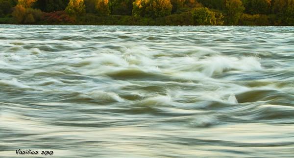 The Lachine Rapids, Montreal, Canada