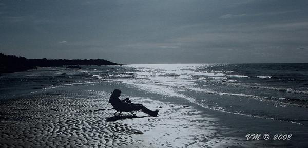 Enjoy the Silence (Brewster Beach, Cape Cod)