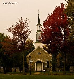 A Chapel during a Canadian Fall season (Chambly, Canada)