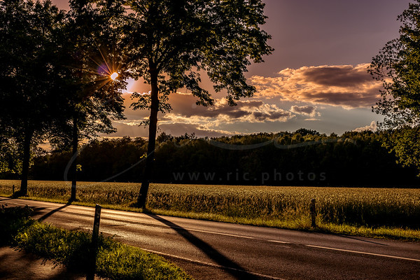 une route de campagne | a  country road