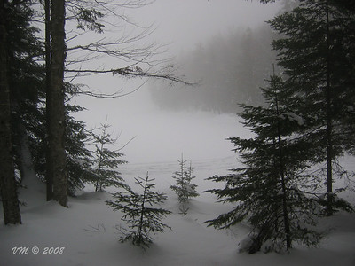 Winter Peace (Blueberry Lake, near Mont Tremblant, Canada)