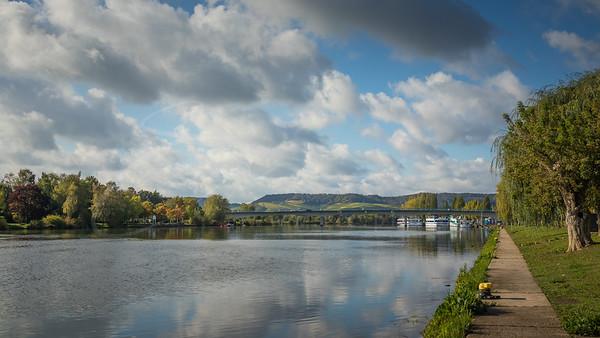 une promenade au bord de la Moselle | a walk along the Moselle
