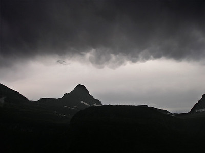 Storm over Logan Pass
