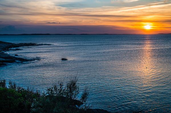 Sunset on Cape Anne