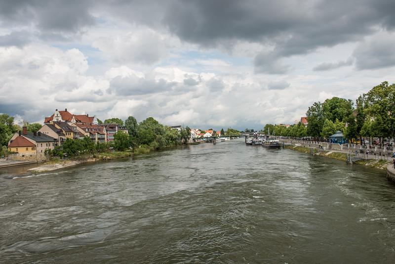 Raging Danube