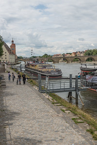 Regensburg on the Danube - Germany