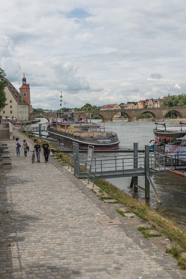 Regensburg on the Danube - Germany