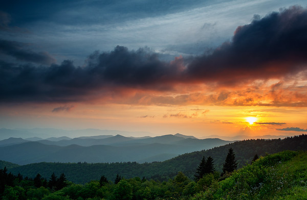 Happens Every Day - Pisgah Forest in North Carolina