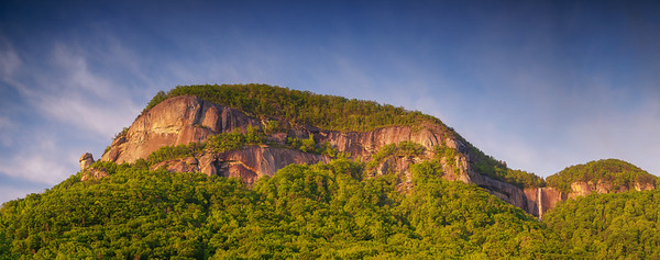 Chimney Rock and Hickory Nut Falls