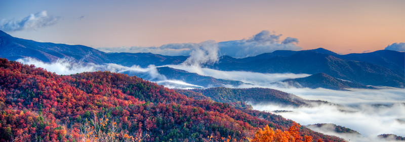 Above the Clouds - Near Asheville, NC