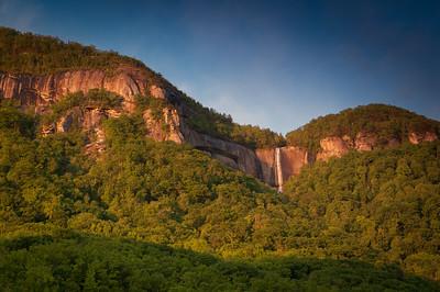 Hickory Nut Falls Mountain