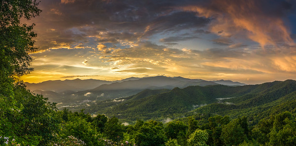 After the Rain - Black Mountain, North Carolina
