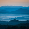 Blue Morning - Near Asheville, North Carolina