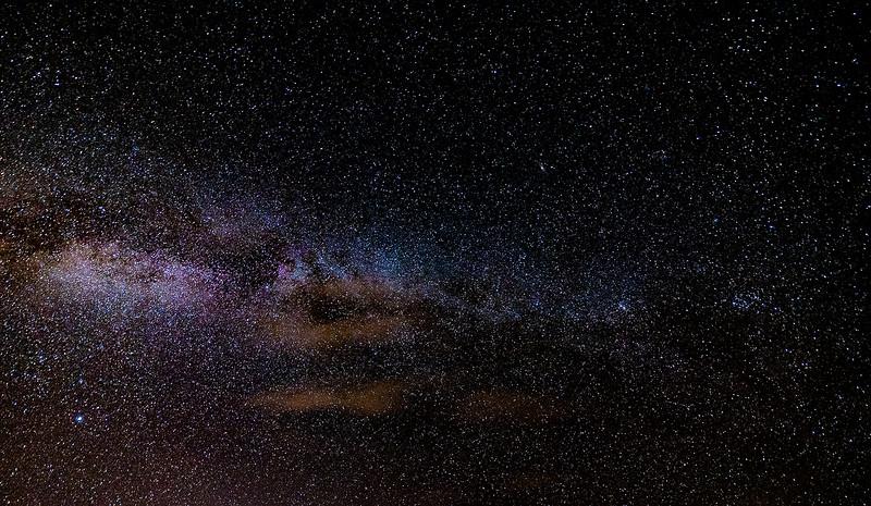 October Night Sky in Maine