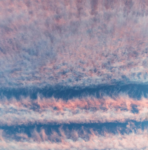 Cotton Candy Clouds at Sunset