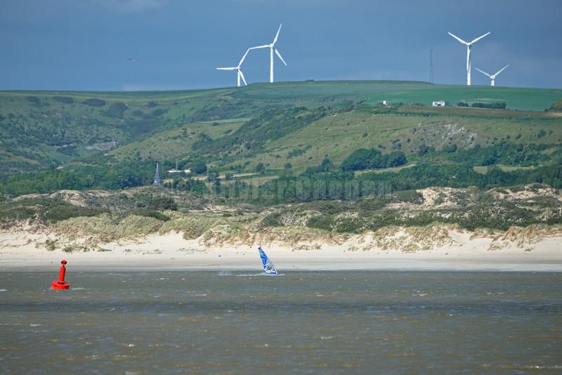 Windsurf FullSpeed en Canche par Nord-Est