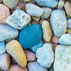 Colorful rocks,  Lake Renwick Preserve, Plainfield, Illinois