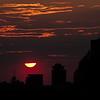 Sunset over Rochester