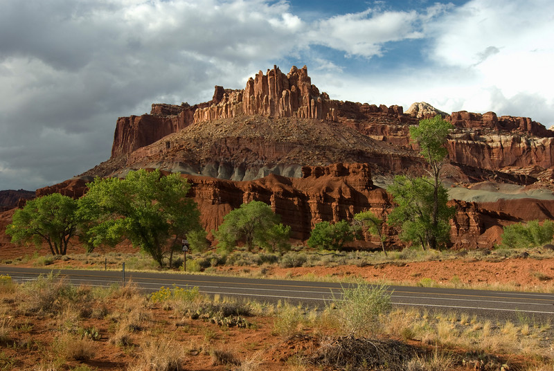 The Castle - Capitol Reef National Park