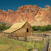 Barn at Gifford Homestead, a Fruita Mormon settlement - Capitol Reef National Park