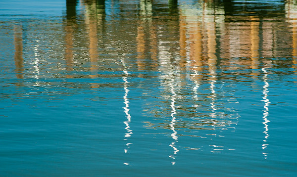 Ripples at the Dock