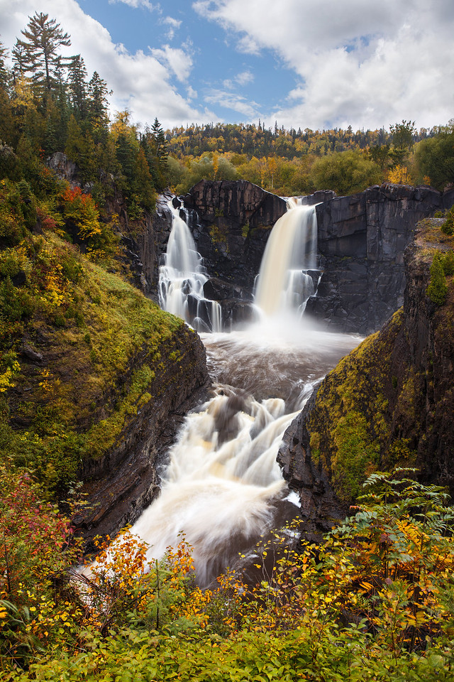 Pigeon River High Falls