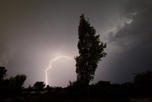 Thunderstorms - August 15, 2015