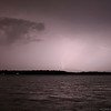 Thunderstorms and Lightning over Cranberry Pond - August 9, 2009