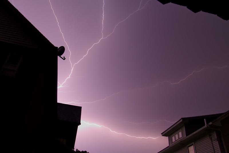 Thunderstorms September 4, 201