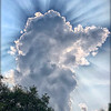 Cloud with Sunrays