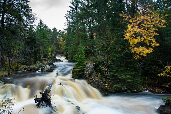 Amnicon Falls in Fall II