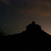 This was a time lapse night (about 3am) photo of Bell mountain up in Sedona Arizona.