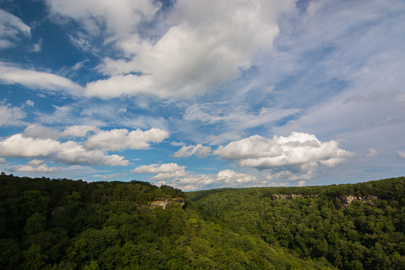 """Clouds At The Canyon"""