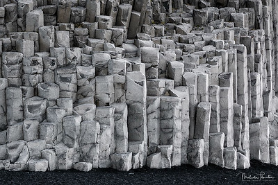 Reynisfjara Basalt Sea Stacks