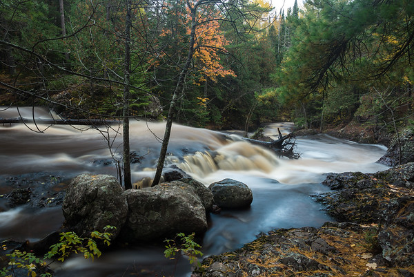 Amnicon Falls in Fall III