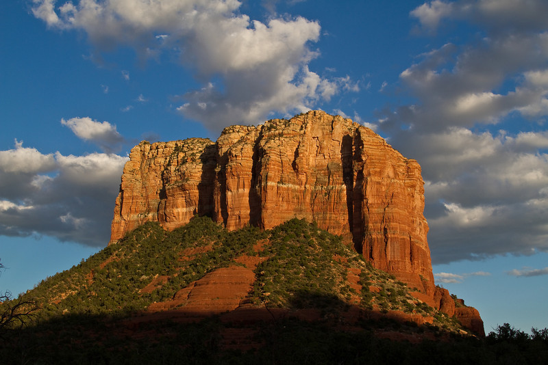 Sedona Arizona. Photo was taken late in the day about an hour before sunset.