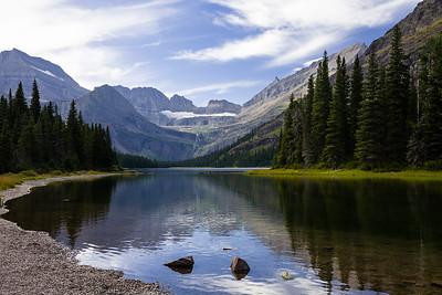 Josephine Lake landscape