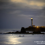 "Lighthouses : The American lighthouse is such an iconic structure.  This is a photo collection of american lighthouses along Northern California's pacific coast.  The Pigeon Point Lighthouse is featured and I will be adding more images soon, so check back often.  There are quite a few Lighthouses located near the San Francisco Bay Area, and I will showcase photos of them here.  Pigeon Point Lighthouse is also located near Half Moon Bay.  San Francisco Bay Area Photographer Colleen M. Griffith is a professional advertising, stock photo, fine art, lifestyle, and wedding photographer.  She has lived in California's San Francisco Bay Area for many years and also offers photo workshops and safaris that include the area's countless photogenic sights.  Satisfaction guaranteed. Colleen can be contacted directly at csmgriffith@yahoo.com or 303-506-3479 (cell phone).  Note, the copyright watermark (the text ""Copyright Colleen M. Griffith Photography, www.colleenmgriffith.com"") will NOT be printed on any purchased prints or downloads.  Friend Colleen on Facebook"